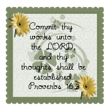 commit thy works prov 16 3